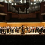Manchester Chamber Choir in Bridgewater Hall, Manchester
