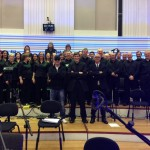 Manchester chamber choir with Pet Shop Boys